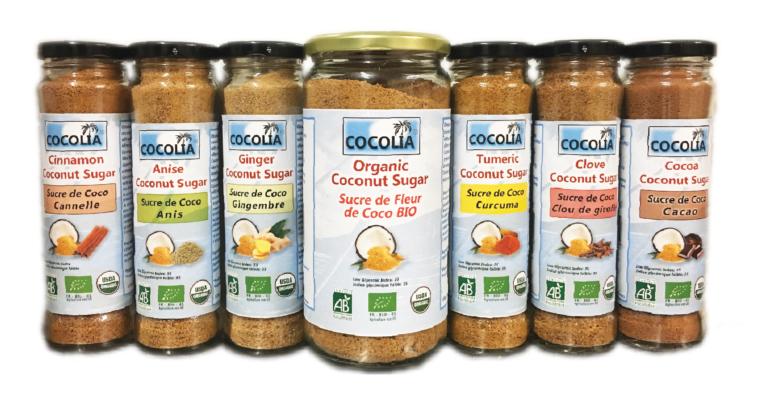 La gamme Cocolia